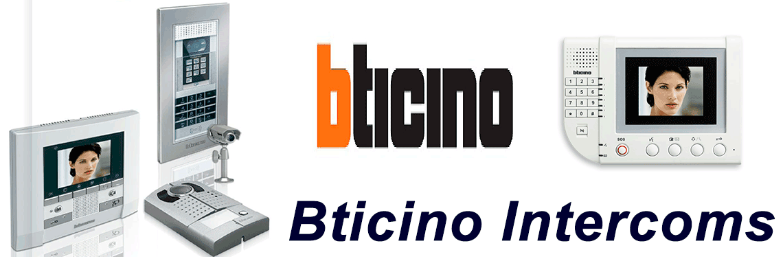 Bticino Intercom Systems Go Electronics Southern Highlands