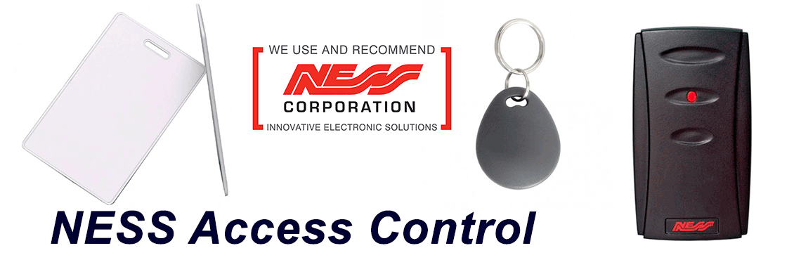 NESS Access Control Go Electronics Southern Highlands
