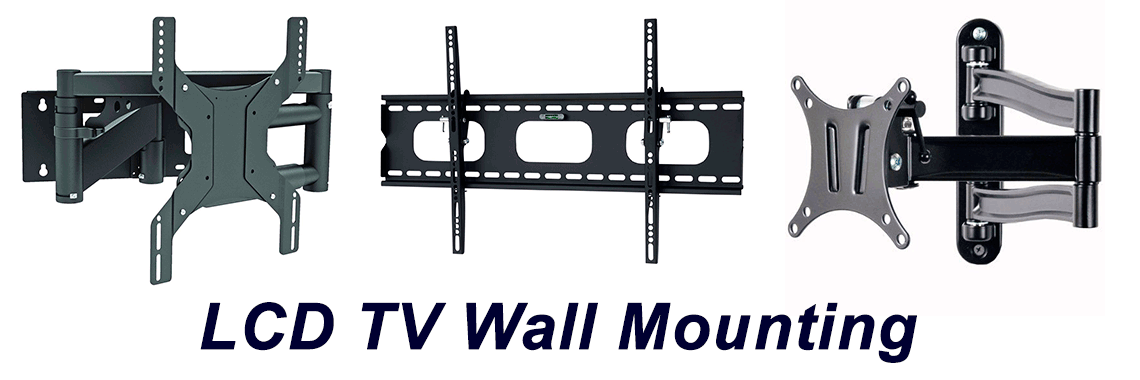 LCD TV Screen Wall Mount Go Electronics Southern Highlands