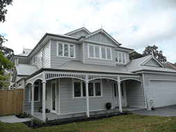 A two story weatherboard home is the most difficult house type to cable as the 1st floor is difficult to cable and the ground floor impossible